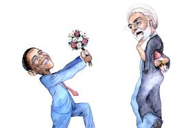 Image result for obama kissing trump's ass cartoon