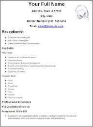 best receptionist resumes  seangarrette cobest receptionist
