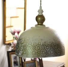 metal ceiling antique hammered copper pendant lights white gold dining bedroom kitchen shabby boho chic hardwire antique white pendant lighting