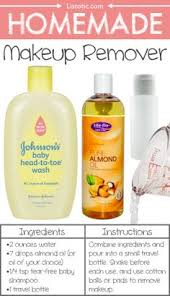 homemade makeup remover 22 everyday s you can easily make from home for less these are all so much healthier too