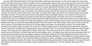 page essay on the french revolution    writing helpi had a french essay on the french revolution and bastille day