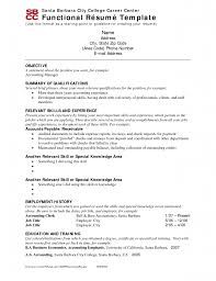 functional resume resume cv example template functional resume 9