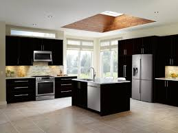 black and stainless kitchen samsung black and stainless steel kitchen transitional kitchen