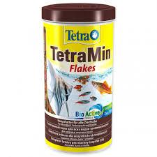<b>TetraMin Flakes корм</b> для всех видов рыб в виде хлопьев