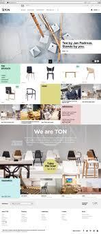 best furniture websites design. web layout ton homepage by pavel valek best furniture websites design