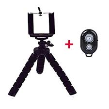 Buy Rovtop Portable <b>Mini Octopus Tripod Bracket</b> Flexible Phone ...
