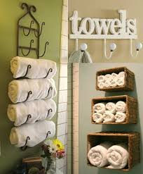 ideas wall shelf hooks: shelves  towels deco ideas bronze metal wine towel rack green painting wall white towels hooks bamboo wicker towel wall shelves towel decoration ideas bathroom accessories perfect white cotton bathroom towel
