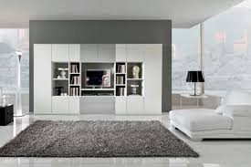 astonishing living room color ideas with gray wall paint for apartment furnished with white sofa and gray soft rug also completed with black table lamp and astonishing colorful living