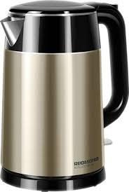 <b>Электрический чайник Redmond RK</b>-<b>M1582</b>, золотой, черный