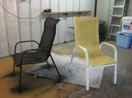 chairs spray painting