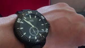 Швейцарские <b>мужские Часы Oris</b> Aquis Titan Small Second Date ...