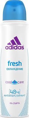 Adidas <b>Дезодорант</b>-<b>антиперспирант</b> спрей Cool&Care Fresh ...