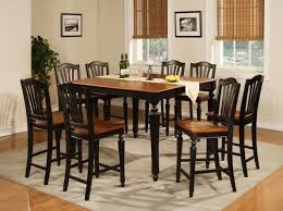 Tall Dining Room Table And Chairs Captivating Tall Dining Room Table Sets Picture Cragfont