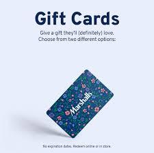 Gift Cards | Marshalls