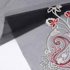 <b>2019</b> New trendy black mesh <b>embroidered</b> tulle <b>lace</b> fabric, View ...