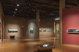 if you look at this example of gallery lighting the designers use led track lighting for two purposes general lighting and highlighting each piece of art art gallery track lighting