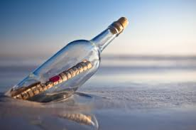 Image result for bottles in ocean