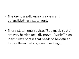 thesis statement this will eventually become the topic amp position