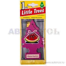 Little Trees U1P10320RUSS <b>Ароматизатор Елочка</b> Арбуз ...