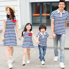 2016 Family Matching <b>Outfits Summer Family Matching</b> Clothing ...