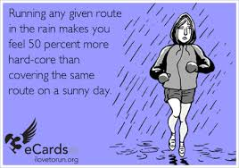 Image result for run and rain