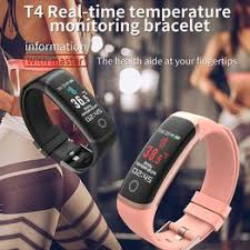 T4 Fitness Tracker with Real-time Temperature Monitoring ... - Vova
