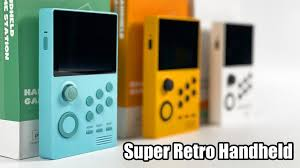 Super Retro Game Handheld First Look! Android Powered ...
