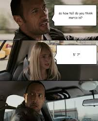 The Rock Driving memes | quickmeme via Relatably.com