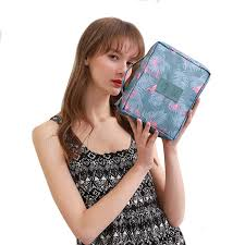 Fashion Letter Makeup <b>bag Cosmetic bag</b> Women Square Travel ...