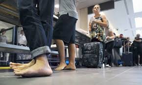 Houston podiatrist treats fungus caught from airport security