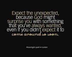 Best ten trendy quotes about expect the unexpected picture Hindi ... via Relatably.com