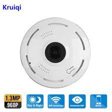 Kruiqi 960P IP Camera Wi Fi Wireless Home Security Camera ...