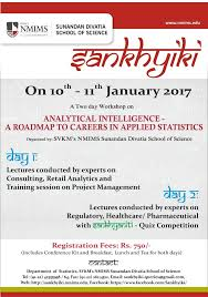 sankhyiki sunandan divatia school of science nmims sankhyiki poster