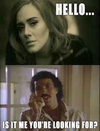 Adele memes for days   Just for Fun.   Pinterest   Adele and Meme via Relatably.com