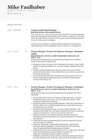 founder and product manager resume samples junior product manager resume