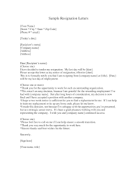 writing a letter of resignation sample letter of resignation resignation letter format best sample how to format a letter of letter of resignation template nz