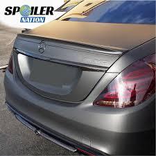 Parts & Accessories Automotive Real Carbon Fiber <b>Rear Trunk</b> ...
