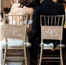 <b>2pcs set Wedding Decoration Pennant</b> Reception Sign Mr And Mrs ...