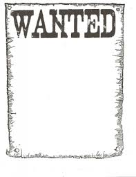 wanted poster template wanted posters wedding wanted poster template for kidsclassroom
