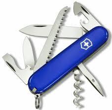 "<b>Нож перочинный Victorinox</b> ""<b>Camper</b>"", 91 мм, синий | Купить с ..."