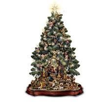 Tabletop Christmas <b>Nativity Scene</b> Christmas Tree <b>Collection</b>