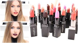 <b>SMASHBOX - Be Legendary</b> Lipstick Swatches & TRY ON ...