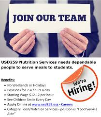 nutrition services who we are we re hiring