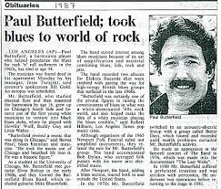 Image result for images of paul butterfield