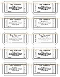 printable raffle tickets info resume templates worddoc 1280663 print your own tickets