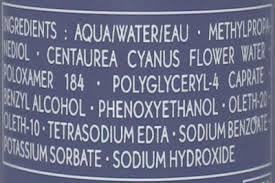 Hasil gambar untuk cosmetic ingredients