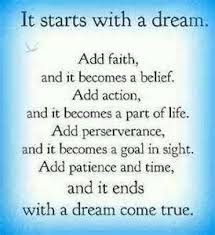 Image result for quotes about dreams coming true