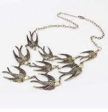 """Seagull"" Bib Choker <b>Necklace</b>   <b>Fashion</b> jewelry, Vintage jewelry ..."