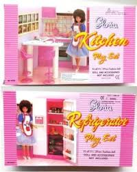 amazoncom new barbie gloria doll house furniture set of 2 refrigerator kitchen toys games barbie dollhouse furniture sets