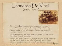 Презентация на тему presentation on the topic leonardo da vinci 3 leonardo da vinci born